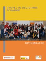 Sistematización Proyecto Decidimos Ecuador